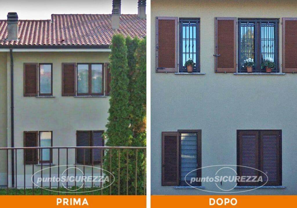Punto Sicurezza Casa - Installazione inferriate di sicurezza a Lecco