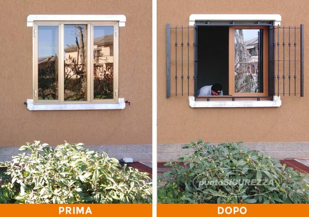 Punto Sicurezza Casa - Installazione Inferriate e infissi a Varese