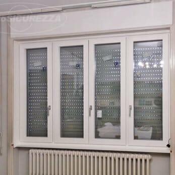La nuova finestra quattro ante in legno alluminio