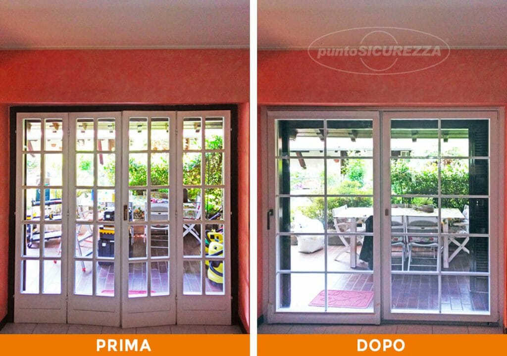 Punto Sicurezza Casa - Installazione Infissi legno alluminio a Como