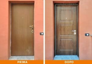 Installazione Porta d'ingresso e Grate a Como