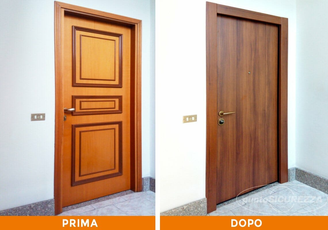 Installazione Porta blindata e Grate a Monza