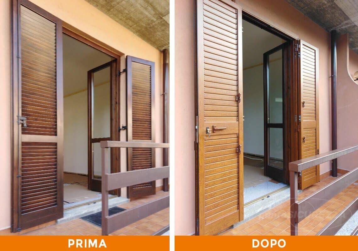 Installazione Porta blindata e Persiane a Como