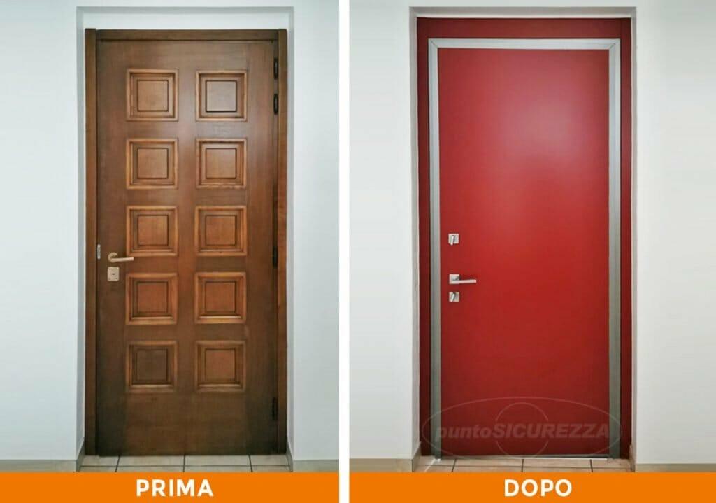Punto Sicurezza Casa - Installazione Porta blindata Lentate sul Seveso