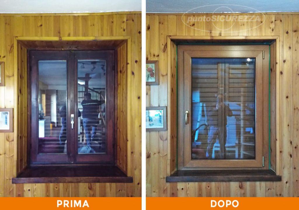 Punto Sicurezza Casa - Installazione Infissi in PVC Alluminio Sondrio