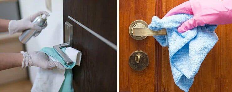Come pulire la porta blindata