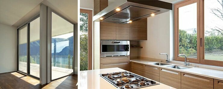 Scopri le caratteristiche degli infissi in legno-alluminio