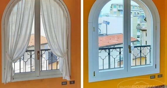 Installazione finestre ad arco a Bergamo