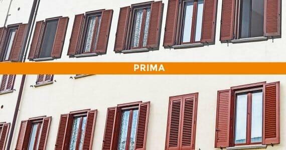 Installazione persiane in alluminio a Lecco