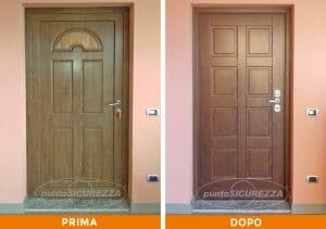 Installazione Porta blindata pantografata Lecco