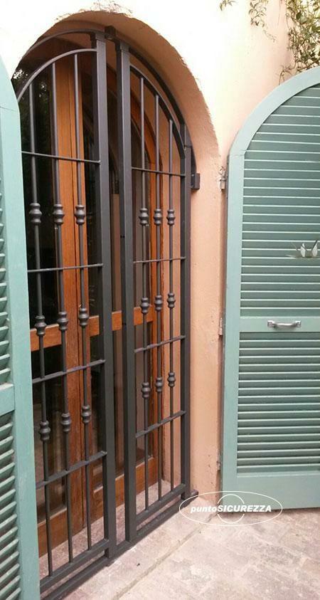 Grate di sicurezza inferriate blindate per finestre - Costo finestre blindate ...