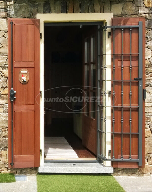 Grate di sicurezza inferriate blindate per finestre - Finestre antintrusione ...