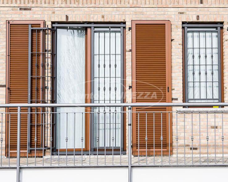 Inferriate scorrevoli per finestre porte prezzi su misura - Finestre pvc su misura prezzi ...