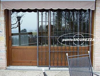 Inferriate scorrevoli per finestre porte prezzi su misura - Inferriate mobili per finestre ...