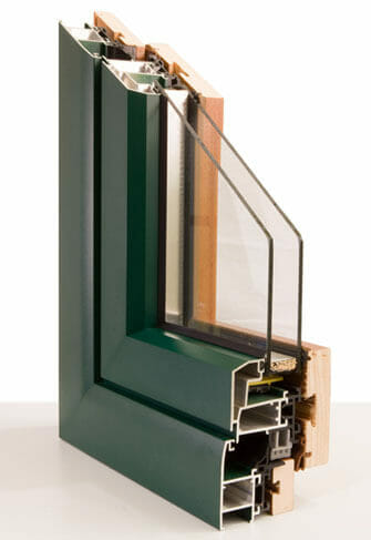 serramenti alluminio legno taglio termico prezzi su misura