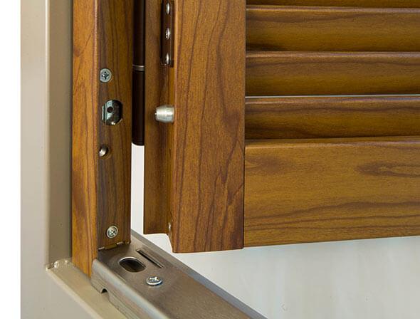 Persiane in alluminio finto legno prezzi. cool porte industriali ad