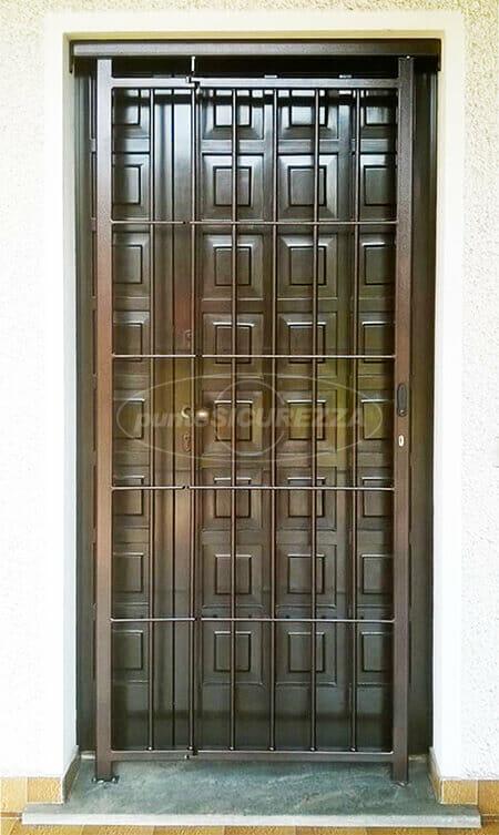 Grate di sicurezza inferriate blindate per finestre su misura - Porta finestra blindata ...