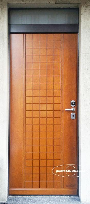 Porte blindate su misura con vetro elettroniche - Sopraluce porta ...