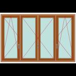 porta-finestra-quattro-ante