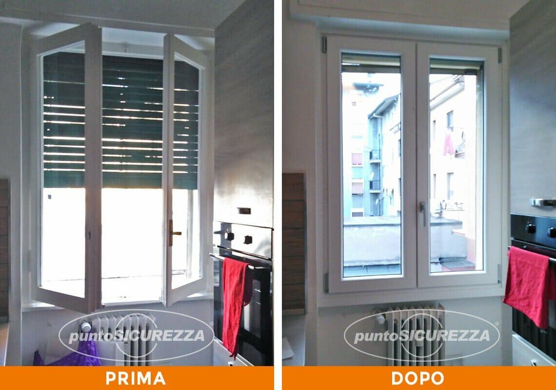 Installazione Finestre e Tapparelle pvc Milano