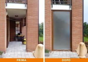 Installazione Finestra pvc Golden Oak a Lecco