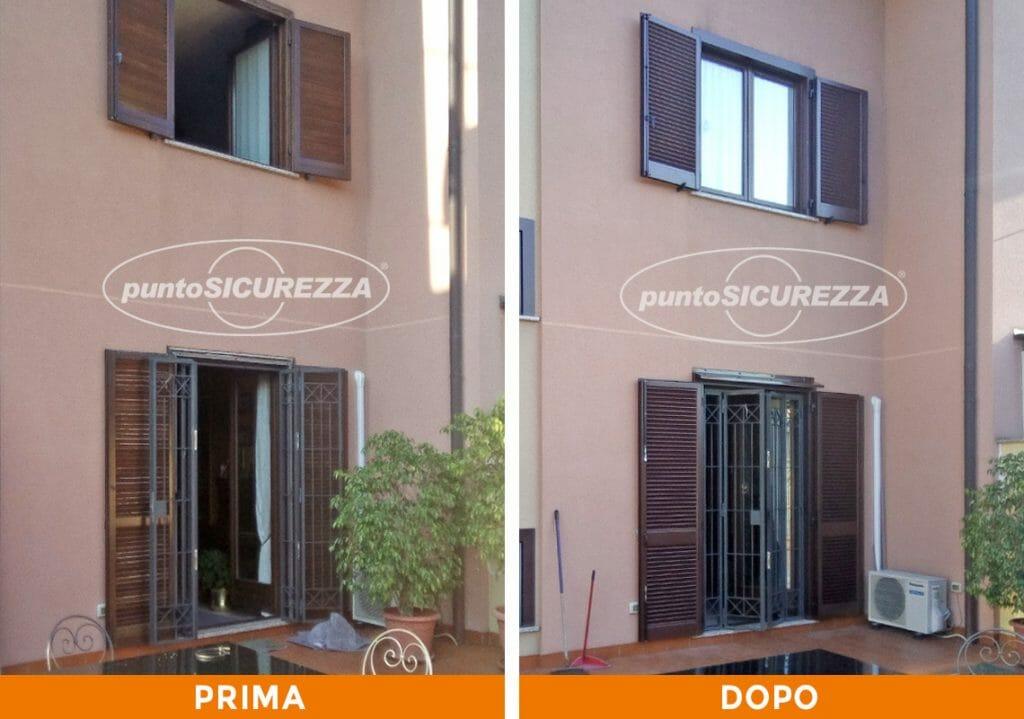 Punto Sicurezza Casa - Installazione Persiane alluminio marrone Monza
