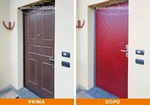 Installazione Porta blindata pantografata Monza