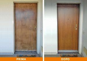 Installazione Porta blindata esterno pvc Lecco
